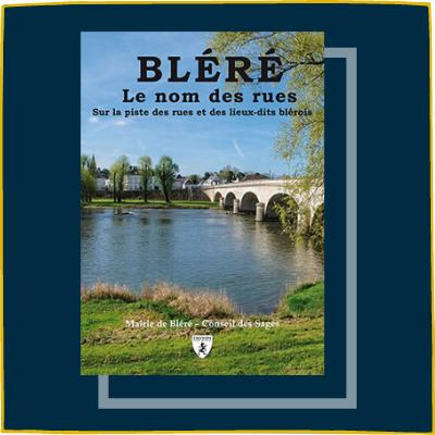Bléré, le nom des rues